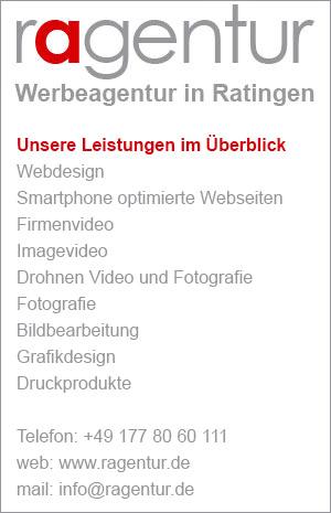 Webdesign Broschüren Flyer Banner Programmheft, Visitenkarten Ratingen